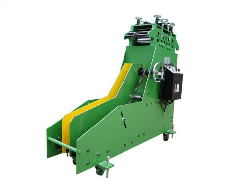 CL type 2 in 1 decoiler and straightener machine