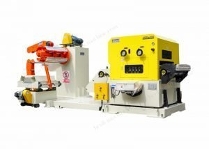 3 in 1 decoiler straightener and feeder machine