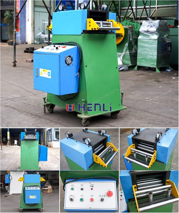 single way straightening machine