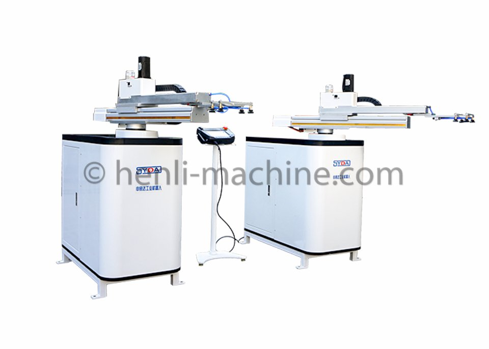 Press to press cnc stamping robot arm - Dongguan Henli