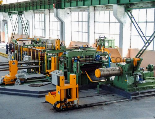 Shearing line for Metal Sheet Cutting and Stacking