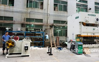 Straightening And Feeding Machine For Servo Punch Press
