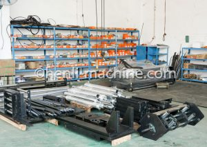machining parts ready to be assembled