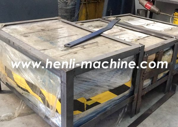 dubai clent's feedback to our coil processing machine