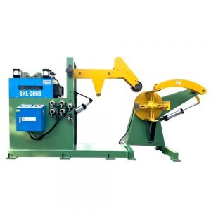 2 in 1 decoiling leveling machine for thick plate