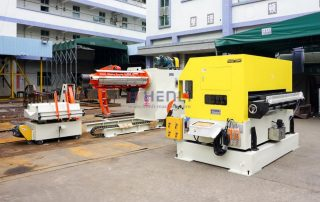 decoiler straightener feeder machine
