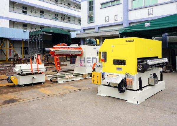 decoiler straightener feeder machine