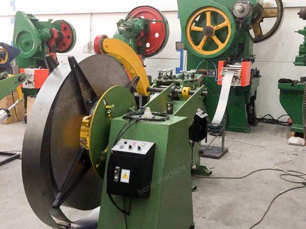 NC Servo Feeder Work With Mechanical Punch Press