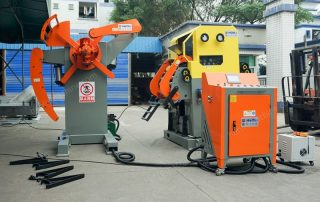 Two Sets of 3 In 1 Servo Feeder Shipping to Brazil