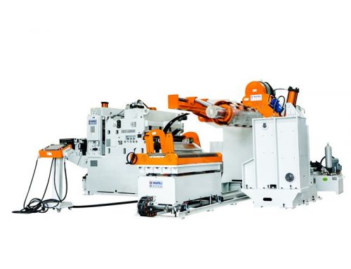 NCHL-GD Compact Servo Straightener Feeder for High Strength Material 1.0-6.0mm