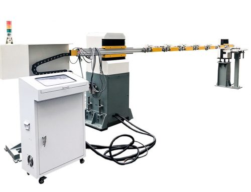 Hydraulic prss with single-arm multi-station robot
