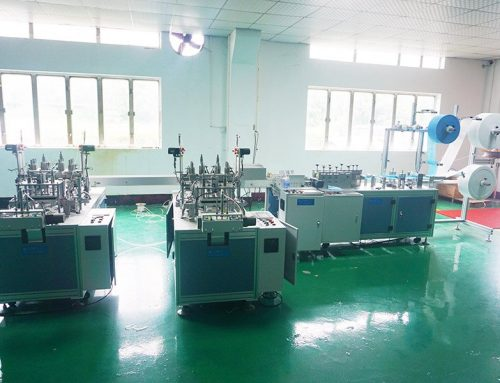 Flat Type Disposable Mask Machine (One drag Two)