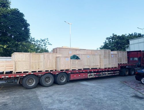 N95 and Flat Disposable Mask Making Machines Shipped to Africa By Air