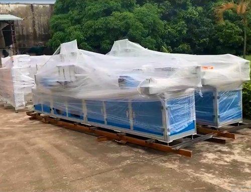 Four Mask Machines Shipped to Jiangxi Province