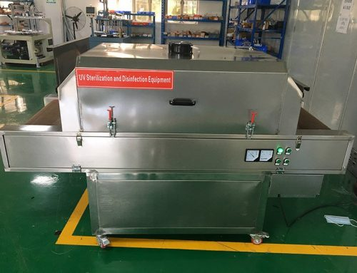 Optional Device of UV disinfection machine and packing machine for Mask Making Line