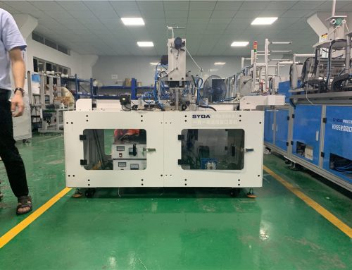 Fully Automatic Disposable Face Mask Making Machine Export To Vietnam