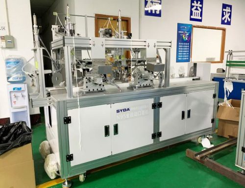 N95 Full Automatic Disposable Mask Machines Shipped to Peru