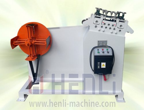Decoiler and Straightener 2 IN 1 Machine