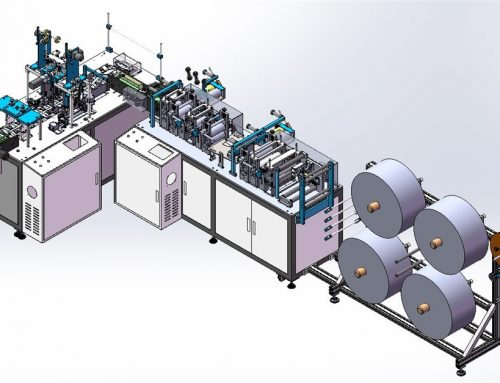 KF94 Mask Making Machine