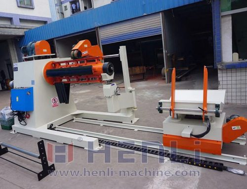 Different types of material head support of heavy decoiler