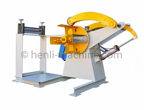 Simply Coil Recoiler With Tensioner