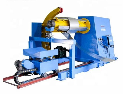 Automatic Hydraulic Uncoiler Decoiler Machine For Metal Sheet Coil Line